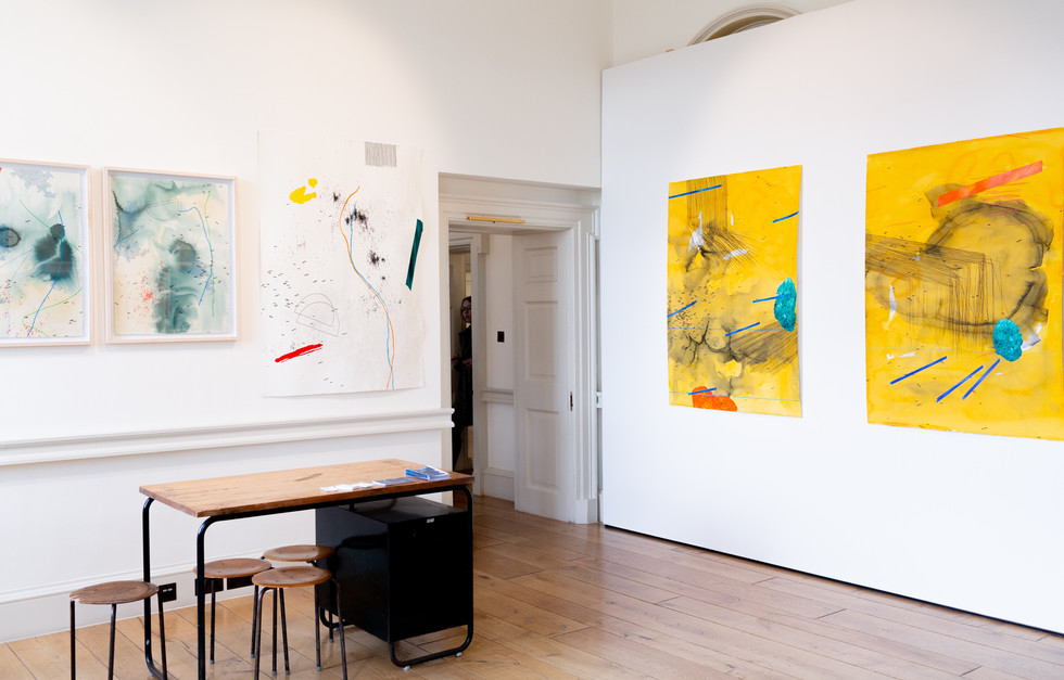 Mongezi Ncaphayi   1:54 Contemporary African Art Fair   2018   Installation View