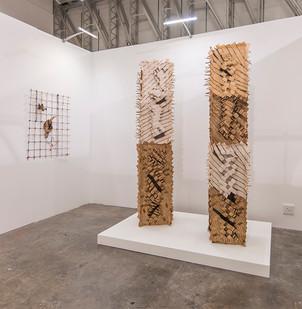 Investec Cape Town Art Fair   Sandile Zulu   Body & Soul, Movement & Site   2017   Installation View