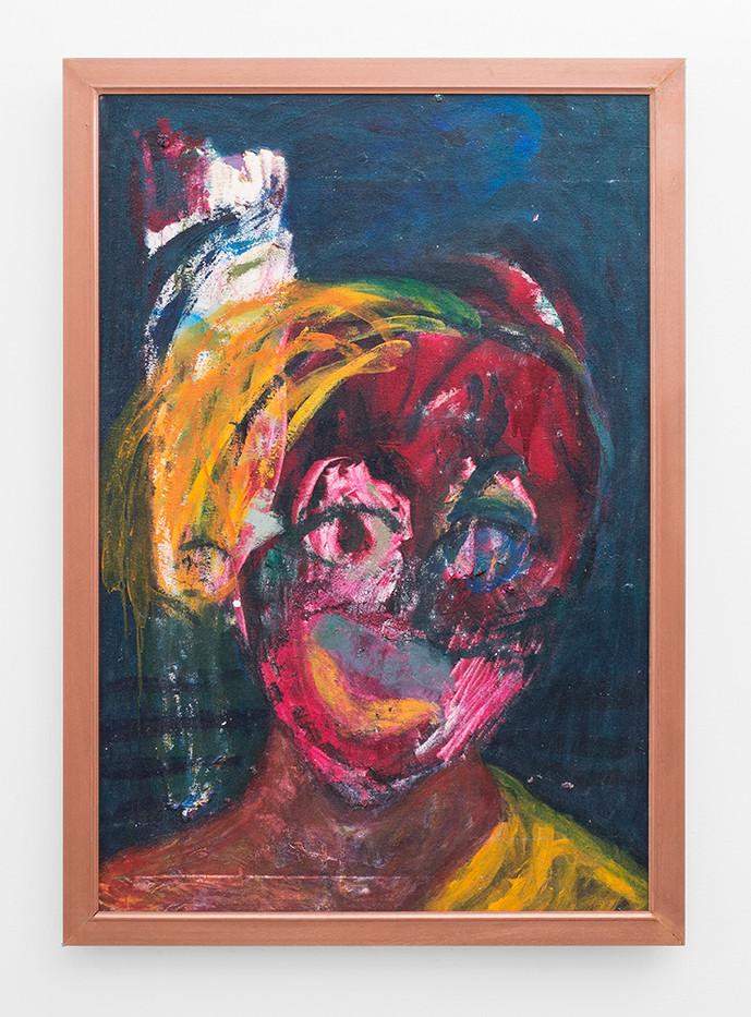 Mostaff Muchawaya   Aginera II   2017   Acrylic on Canvas   100 x 68 cm