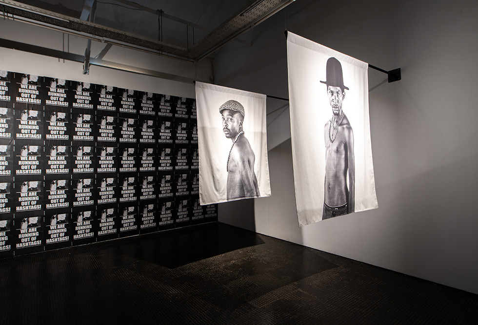 Musa N. Nxumalo | We Are Running Out Of Hashtags! | 2020 | Installation View