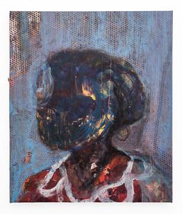 Mostaff Muchuwaya   Untitled   2018   Acrylic on Canvas   92 x 78 cm