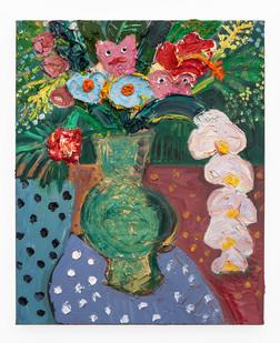 Georgina Gratrix | Biggie Best Bouquet | 2020 | Oil on Canvas | 80 x 65 cm