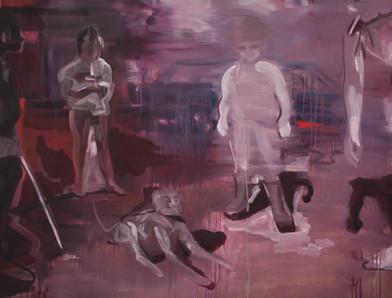 Kate Gottgens | The Inquisitors | 2014 | Oil on Canvas | 115 x 150 cm