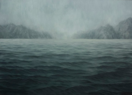 Jake Aikman | Veiled Distances | 2014 | Oil on Canvas | 149.5 x 209.5 cm