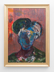 Mostaff Muchawaya | Mhai | 2017 | Acrylic on Canvas | 100 x 70 cm