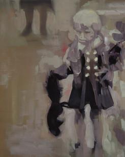Kate Gottgens | Squirrel | 2014 | Oil on Canvas | 50 x 40 cm