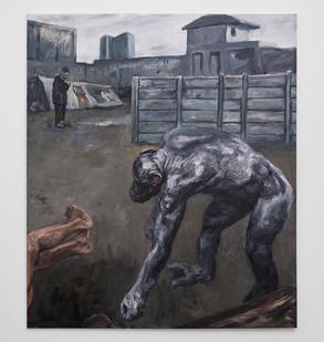 Johann Louw | Angelus | 2017 | Oil on Panel | 234 x 200 cm