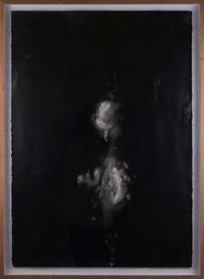 Alexandra Karakashian   Undying XIV   2017   Oil on Sized Paper   100 x 70 cm