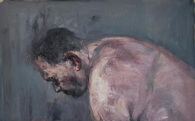 Johann Louw   Vooroor Gebuig   2015   Oil on Board   75 x 120 cm