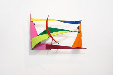 Barend de Wet | Object made to look like art XI | 2012 | Enamel Paint on Steel | 56 x 39 x 16 cm