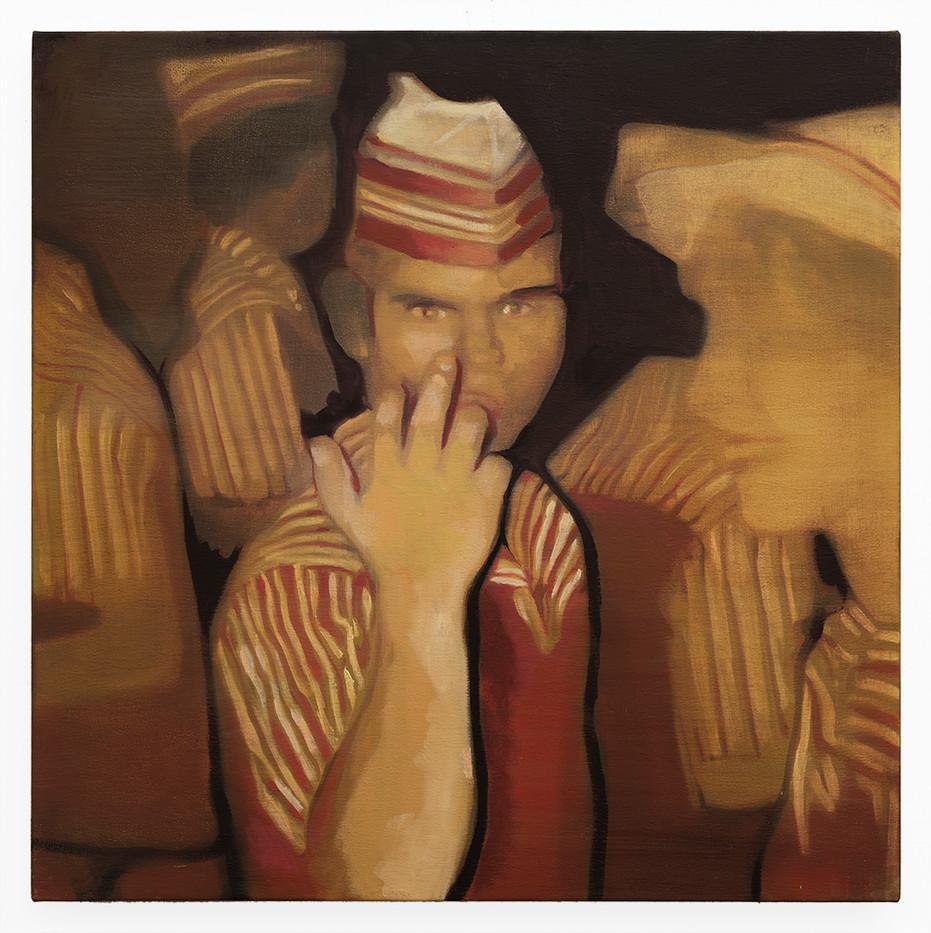 Kate Gottgens | The Distance #5 | 2019 | Oil on Canvas | 68.5 x 68.5 cm