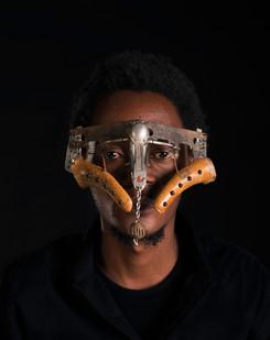 Cyrus Kabiru | Macho Nne 18 (Unknown Mask) | 2015 | Pigment Ink on HP Premium Satin Photographic Paper | 150 x 120 cm | Edition of 5 + 2 AP
