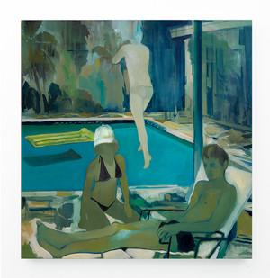 Kate Gottgens | Hypnotics | 2018 | Oil on Canvas | 150 x 150 cm
