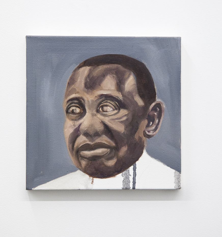 Themba Shibase | Big Boy (Cyril) | 2017 | Oil on Canvas | 30 x 30 cm