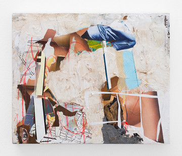 Asha Zero | autointrins | 2018 | Acrylic on Board | 36 x 42 cm