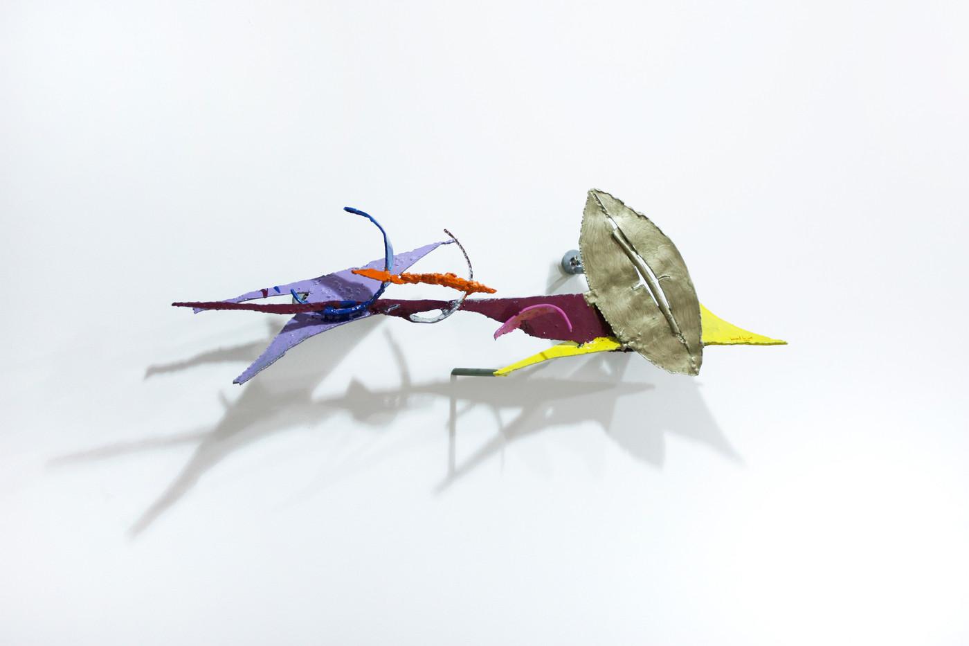 Barend de Wet | Object made to look like Art XIV | 2012 | Enamel Paint on Steel | 92 x 29 x 20 cm
