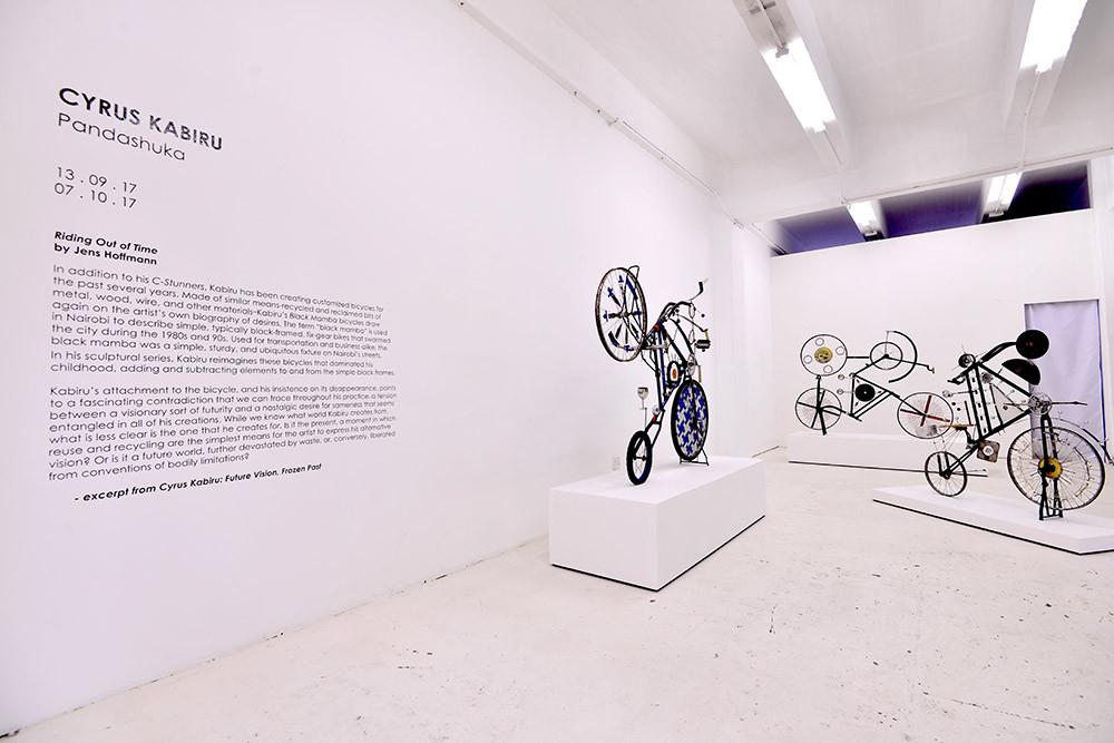 Cyrus Kabiru | Pandashuka | 2017 | Installation View