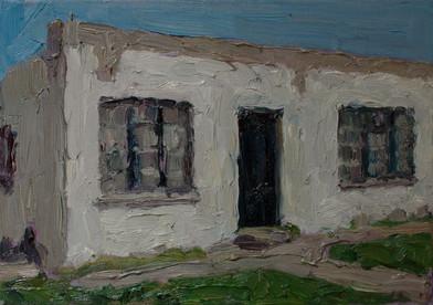 Anton Karstel | Property (Zwide) | 2014 | Oil on Canvas | 21 x 29.5 cm