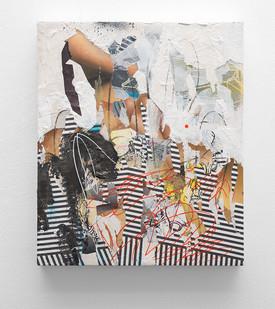 Asha Zero | d_f36bit | 2016 | Acrylic on Board | 43 x 36.5 cm