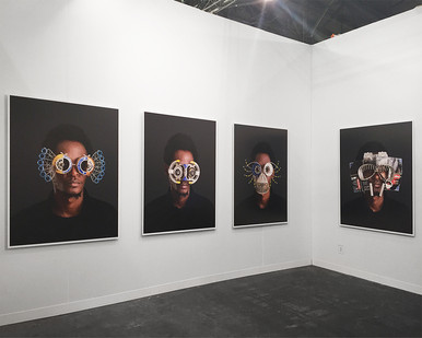 Cyrus Kabiru | The Armory Show | 2016 | Installation View