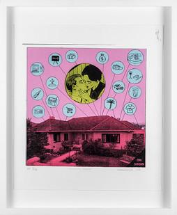 Anton Kannemeyer | Bourgeois Horror | 2005 | Silkscreen | 55 x 49 cm