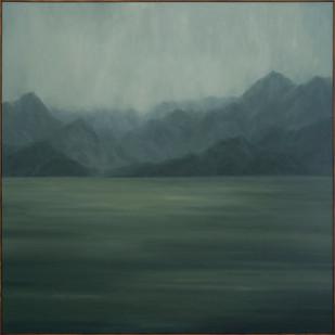 Jake Aikman | Landfall | 2017 | Oil on Canvas | 175 x 175 cm
