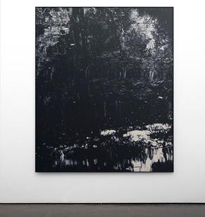 Peter Eastman | Coldstream VIII | 2017 | Oil on Aluminium | 186 x 150 cm
