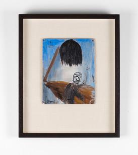 Simon Stone   Black Tree   2016   Oil on Cardboard   21 x 16,5 cm