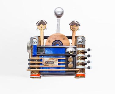 Cyrus Kabiru | Warembo | 2020 | Steel and Found Objects | 48 x 43 x 17 cm