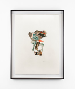 Kate Gottgens | Cubist Lover (topple it) | 2020 | Collage on Paper | 76 x 57 cm