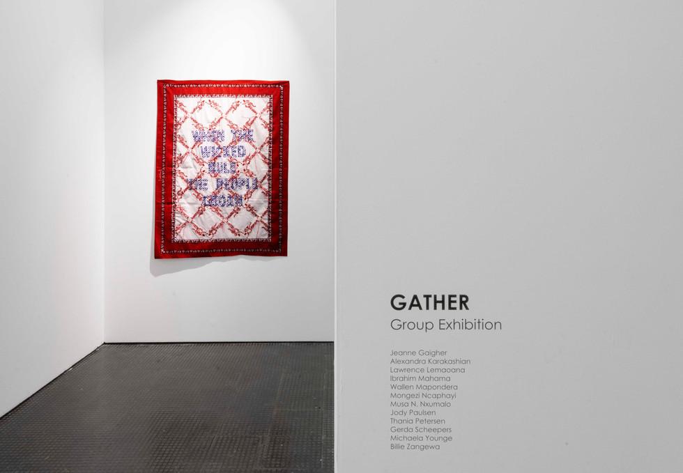 Gather | 2020 | Installation View