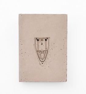 Usha Seejarim | Pressed 05 | 2021 | Cement | 48 x 34 x 4 cm