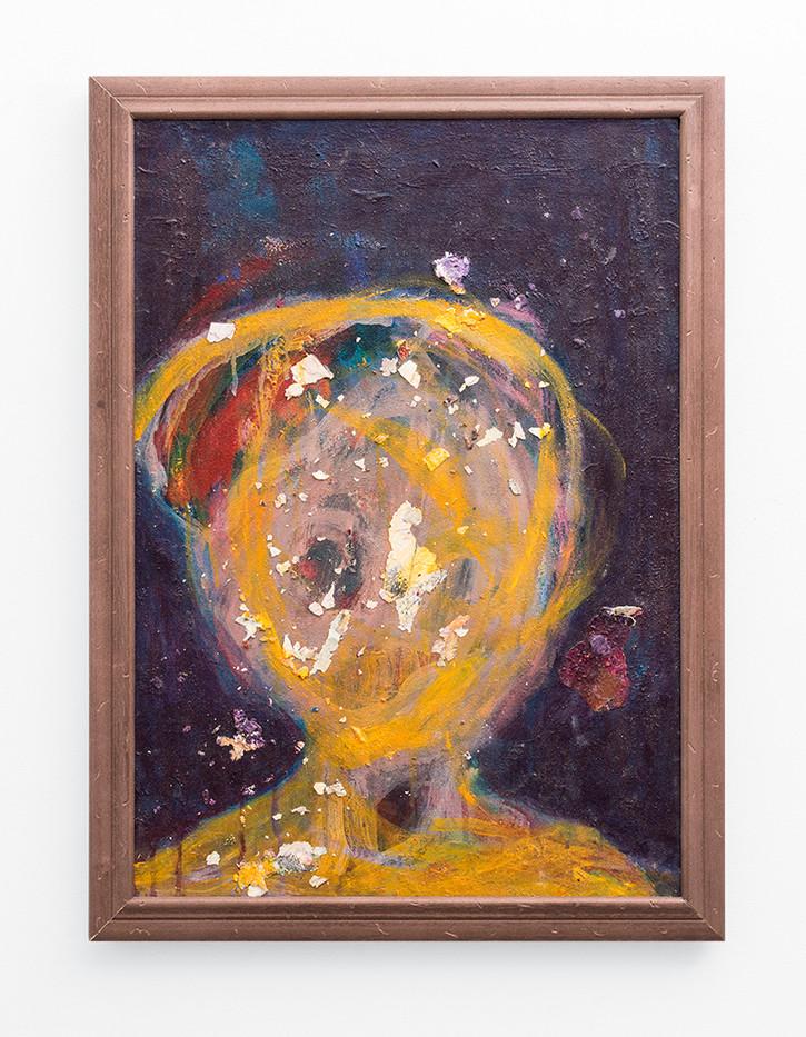 Mostaff Muchawaya   Untitled   2017   Acrylic on Canvas   69 x 48 cm