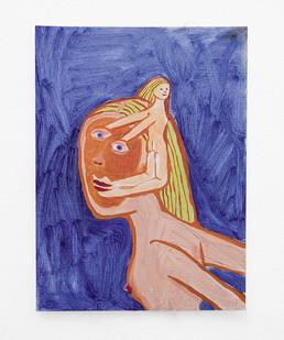 Marlene Steyn   Back Flash Body   2018   Oil on Canvas   30.5 x 23 cm