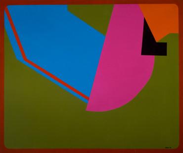 Trevor Coleman | Samarkand | 1973-1974 | Acrylic on Canvas | 127 x 153.5 cm
