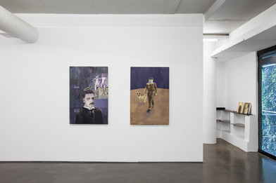 Themba Shibase | Give-and-Take, Push-and-Pull | 2017 | Installation View