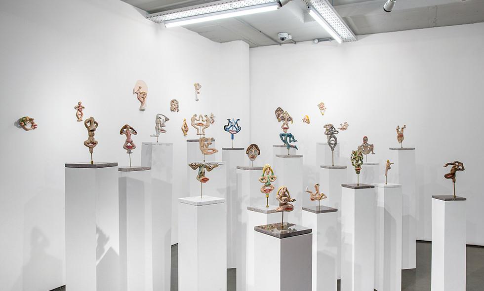 Marlene Steyn   Knot I: I Knot   2017   Installation View