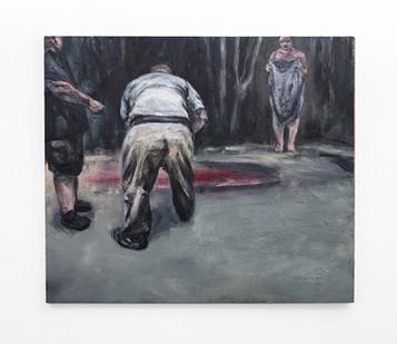 Johann Louw | Gifdam, met Gilles | 2020 | Oil on Board | 122 x 142 cm