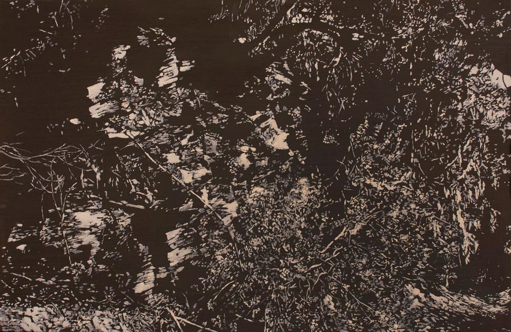 Peter Eastman | Deep Chine VII | 2014 | Oil on Aluminium | 49.5 x 74 cm