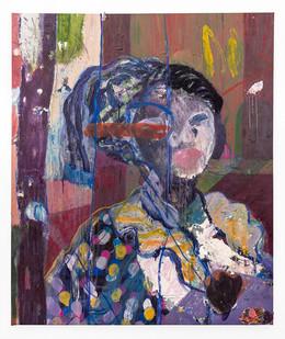 Mostaff Muchuwaya   Vatete Gire   2019   Acrylic and Ink on Canvas   192 x 157.5 cm