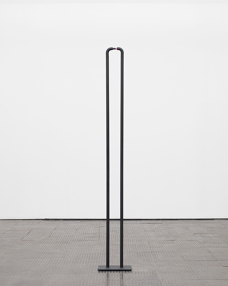 Ruann Coleman   Touching   2017   Steel   200 x 30 cm