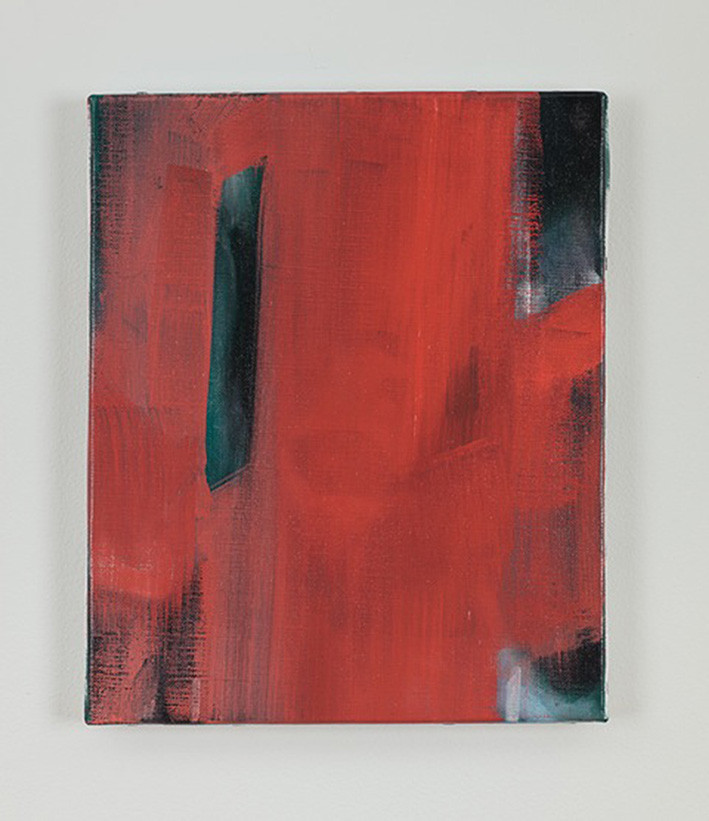 Paul P. | Untitled | 2011 | Oil on Canvas | 22 x 27 cm