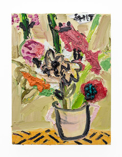 Georgina Gratrix | Hows your day | 2018 | Oil on Canvas | 40 x 30 cm