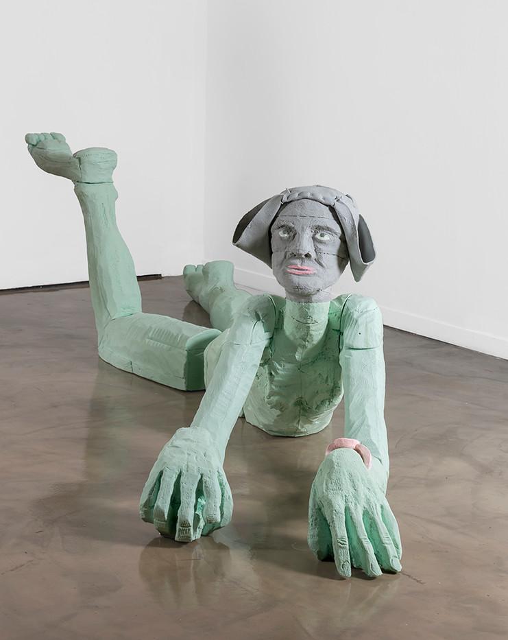 Marlene Steyn | Sphinxy Minx | 2019 | Polyurethane Resin | 90 x 190 x 370 cm | Edition 3 + 2 AP