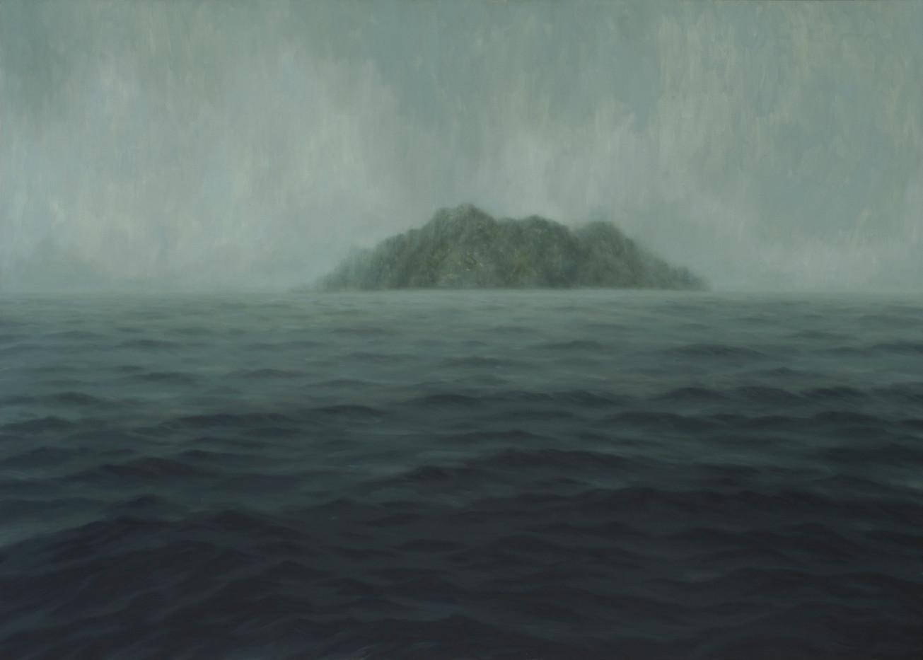 Jake Aikman | The Island | 2014 | Oil on Canvas | 150 x 210 cm