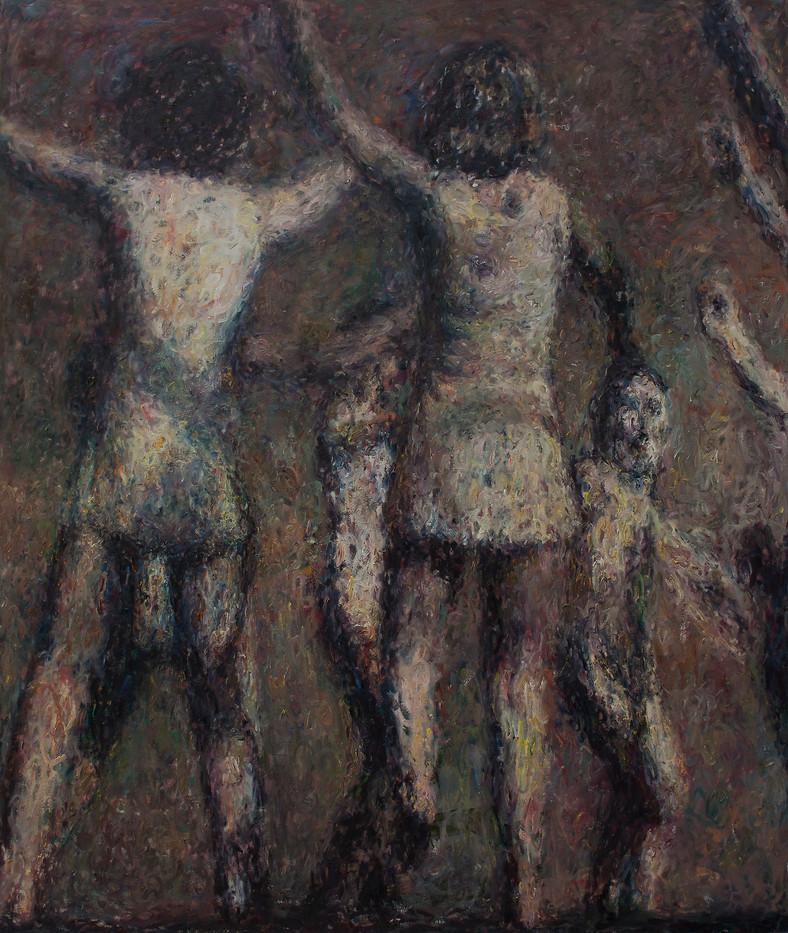 Anton Karstel | /1939-Glaube-und-Schoenheit (VI) | 2014 | Oil on Canvas | 200 x 170 cm