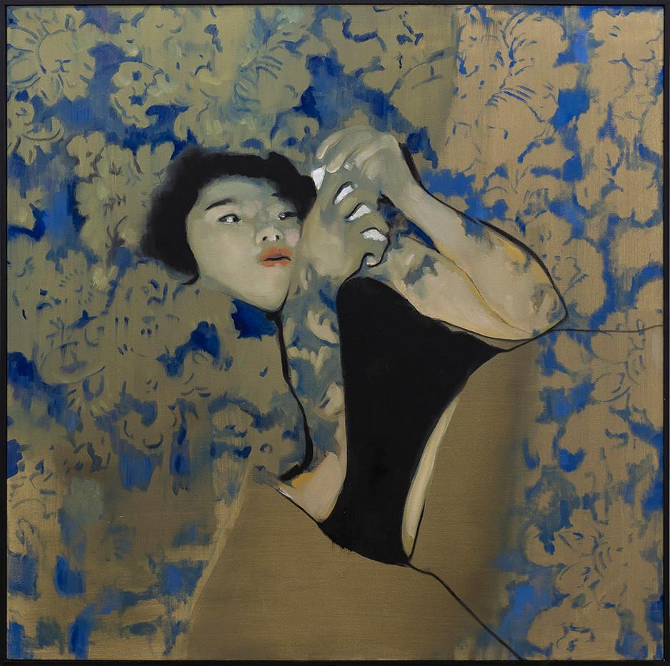 Kate Gottgens | Quicksand | 2017 | Oil on Canvas | 95 x 95 cm