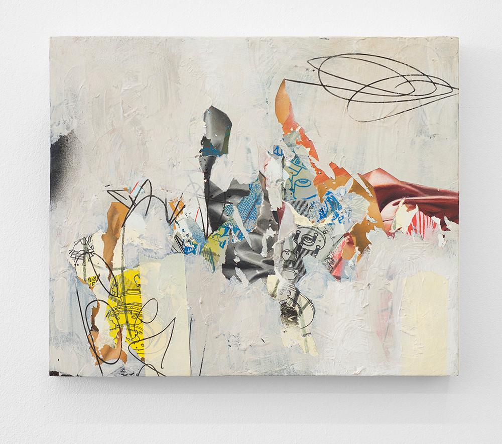 Asha Zero | .x_5x. | 2016 | Acrylic on Board | 82.5 x 102.5 cm