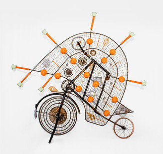 Cyrus Kabiru | The Planet Order | 2020 | Steel and Found Objects | 200 x 210 cm