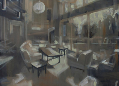 Kate Gottgens | Interior 2 | 2013 | Oil on Canvas | 61 x 84 cm